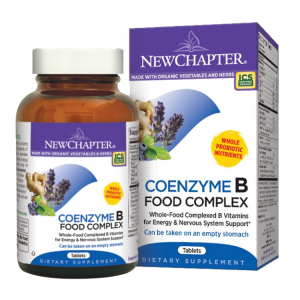 New Chapter Coenzyme B Food Complex, 180 Tabs