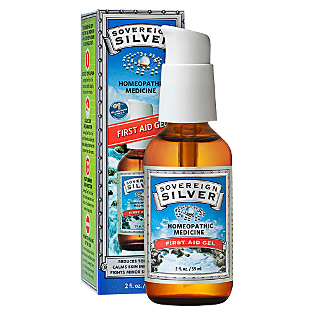Sovereign Silver First Aid Gel, 2 oz.