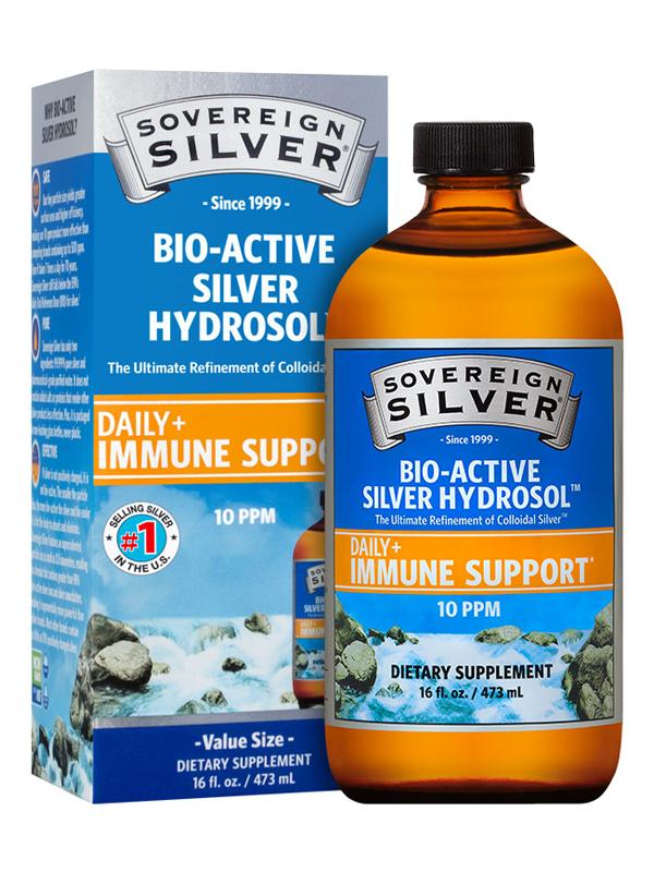 Sovereign Silver Pour-Top, 16 oz.