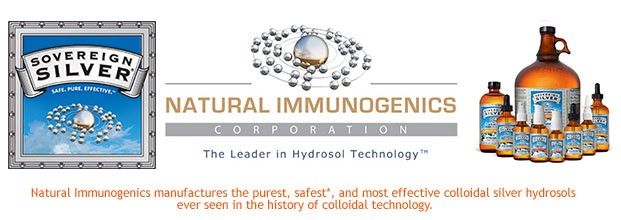 Natural-Immunogenics manufactures the purest, safest*, and most effective colloidal silver hydrosols ever seen in the history of colloidal technology.