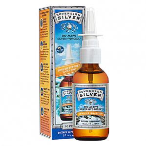 CLEARANCE - Sovereign Silver Vertical Spray-Top 2oz.  Exp 2/18