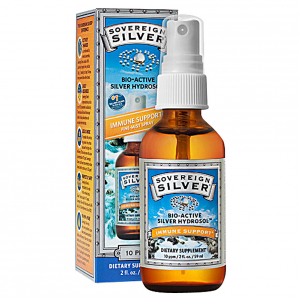 Sovereign Silver Fine Mist Spray-Top, 2 oz.