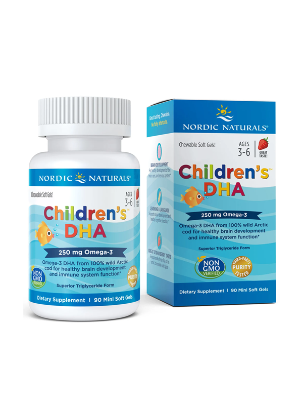 Nordic Naturals Children's DHA, 180 Chewable Softgels