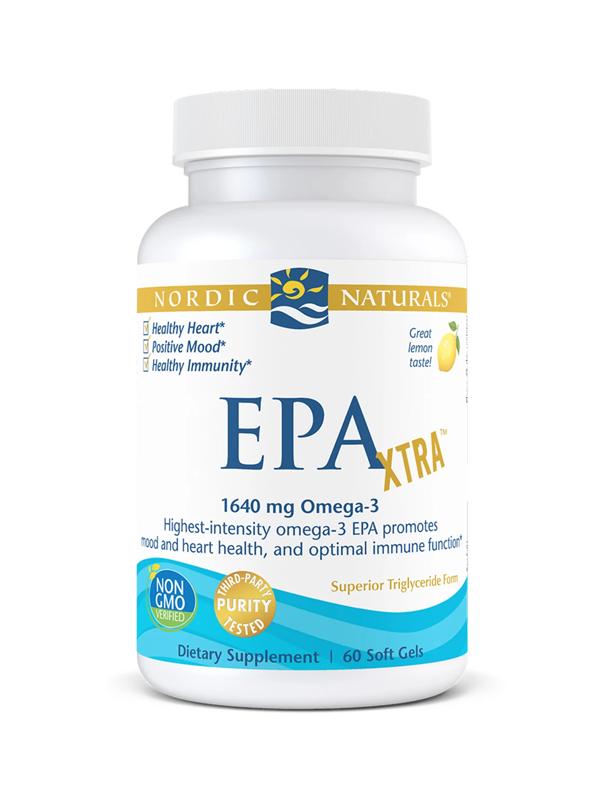 Nordic Naturals EPA XTRA 1000 mg, 60 Softgels