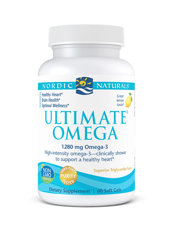 Nordic Naturals Ultimate Omega, 60 Softgels