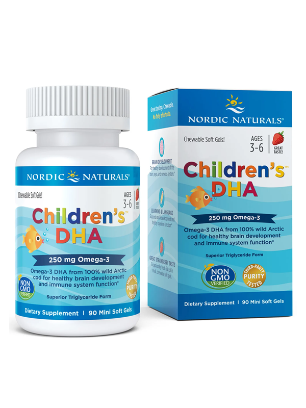 Nordic Naturals Children's DHA, 360 Chewable Softgels