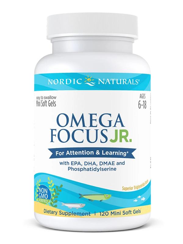 Nordic Naturals Omega Focus Junior, 120 Softgels