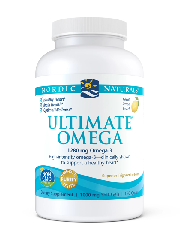 Nordic Naturals Ultimate Omega, 180 Softgels
