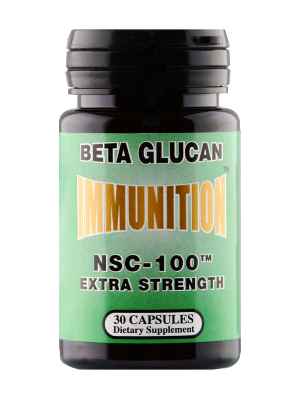 NSC-100 Beta Glucan Extra Strength, 30 Capsules