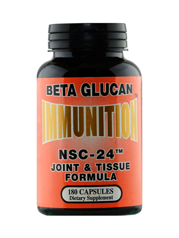 NSC-24 Beta Glucan Joint and Tissue Formula, 180 Capsules