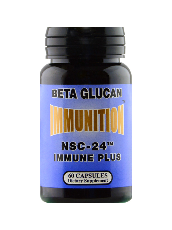 NSC-24 Beta Glucan Immune Plus, 60 Capsules