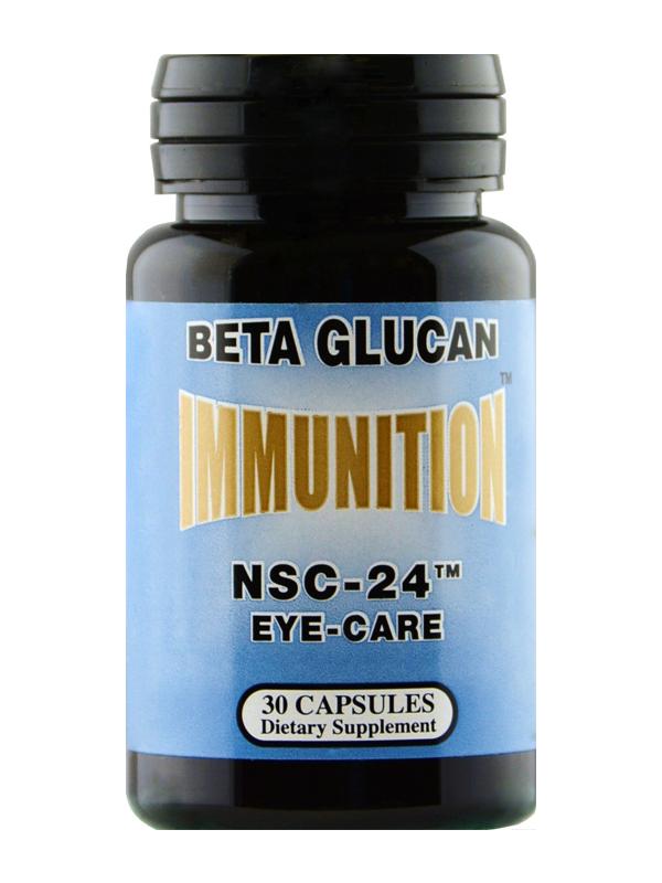 NSC-24 Beta Glucan Eye-Care Formula, 30 Capsules