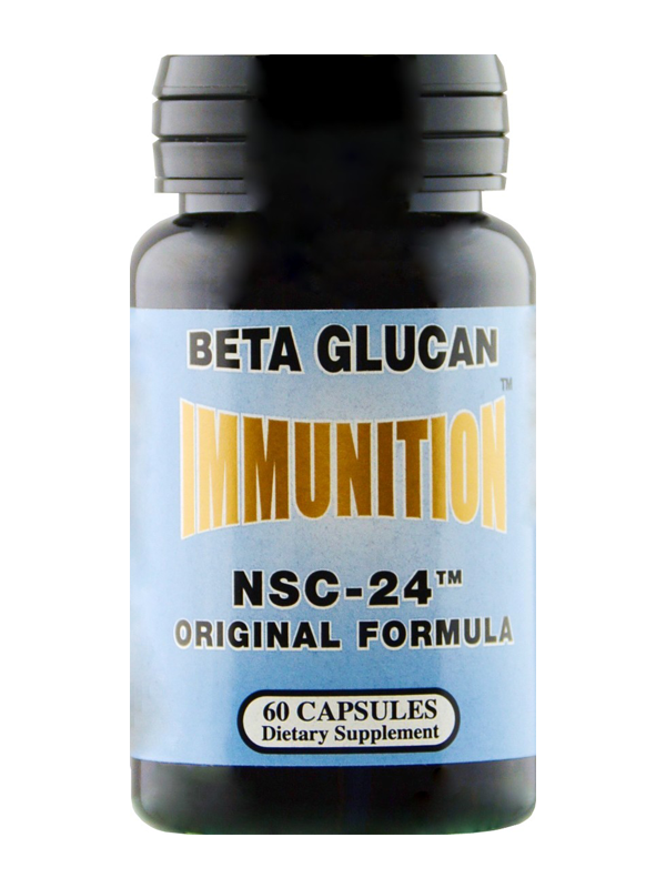 NSC-24 Beta Glucan Original Formula, 60 Capsules