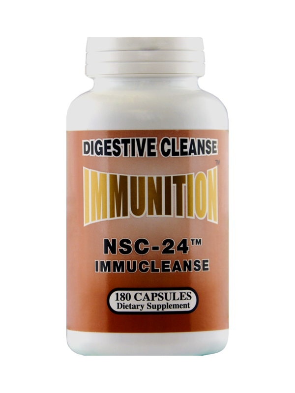 NSC-24 Immucleanse, 180 Capsules