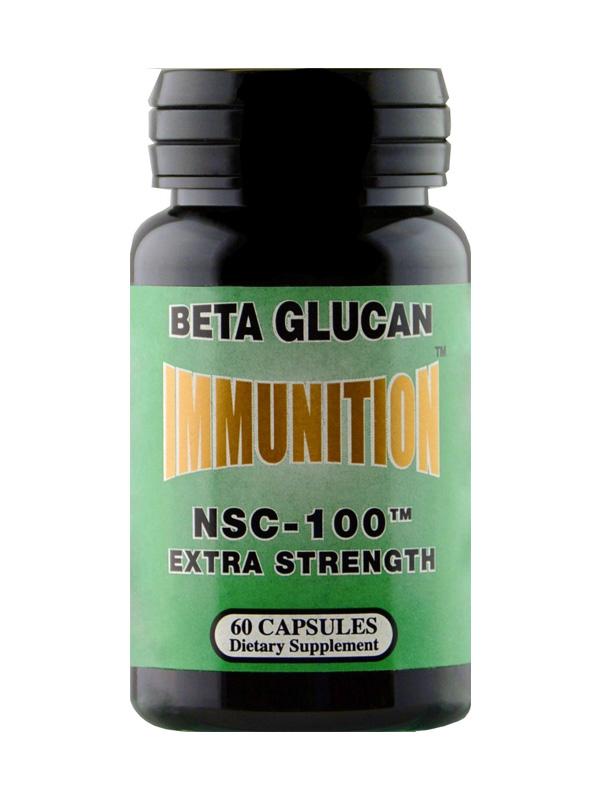 NSC Immunition Extra Strength Beta Glucan, 60
