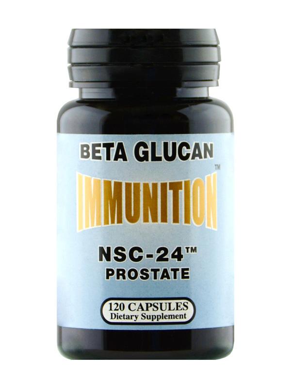 NSC Beta Glucan Prostate, 120 Count