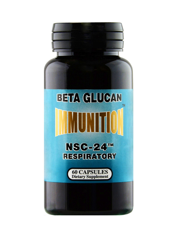 NSC24 Beta Glucan Respiratory Formula, 60