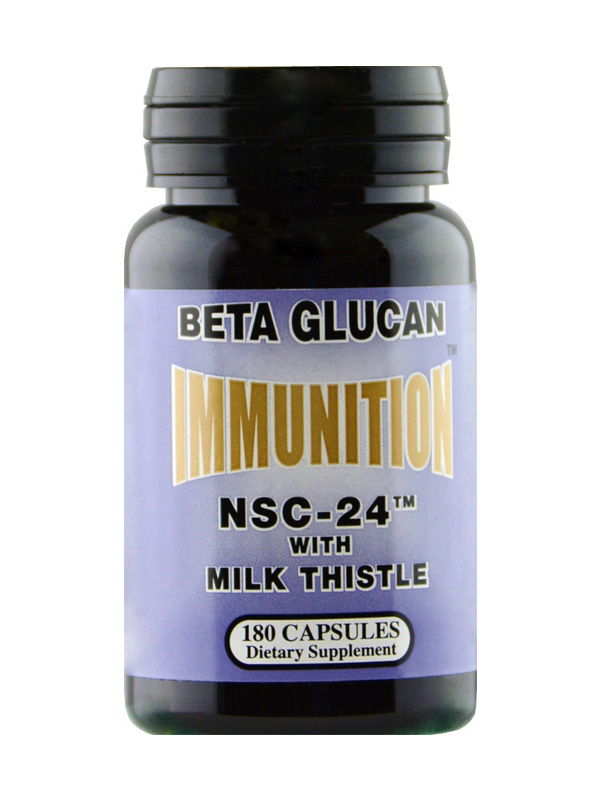 NSC Beta Glucan with Milk Thistle, 180 Count