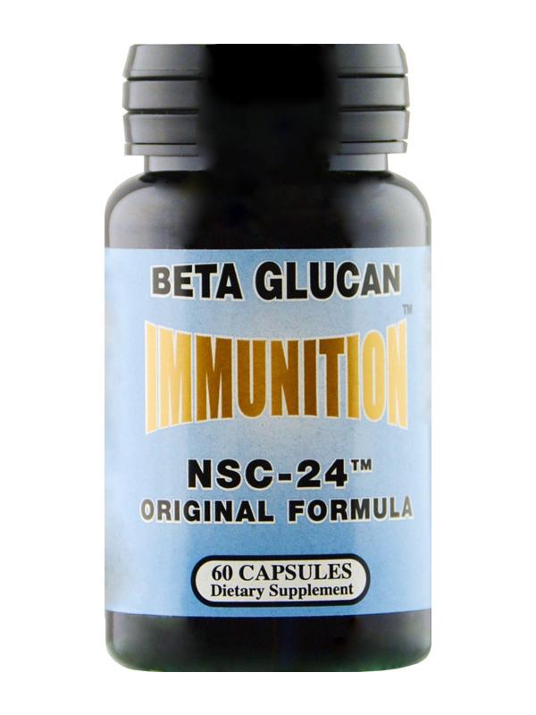 NSC Original Beta Glucan, 60 Count