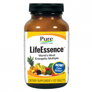CLEARANCE - Pure Essence Labs Life Essence Master Multiple, 120 Tabs  Exp 07/17