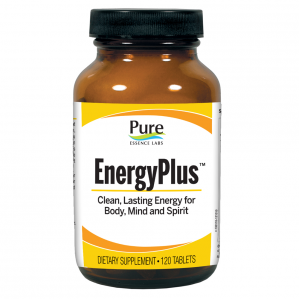 Pure Essence Labs Energy Plus, 120 Tabs