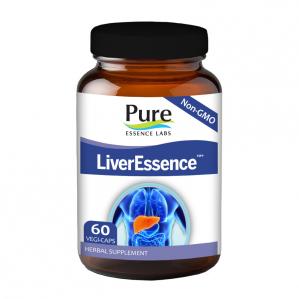 Pure Essence Labs LiverEssence, 60 VCaps