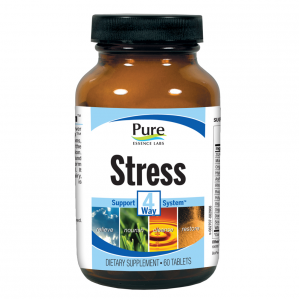 Pure Essence Labs Stress 4 Way Support System, 60 Tabs