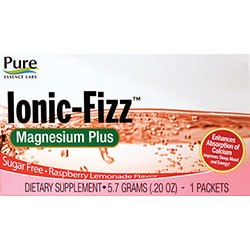 SAMPLE Pure Essence Labs Ionic-Fizz Magnesium Plus, 5.7 grams, 1 Packet