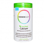 Rainbow Light Just Once Naturals Food-Based Calcium, 180 Tabs