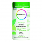 Rainbow Light Certified Organics Mens Multivitamin, 120 VCaps