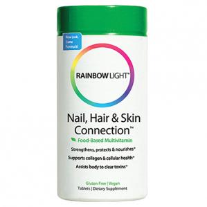 Rainbow Light Nail, Hair and Skin Connection, 60 Tabs