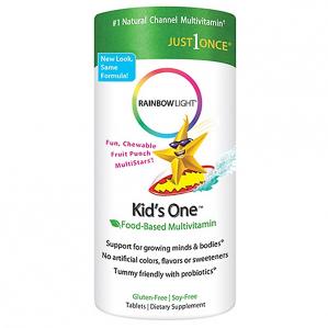 Rainbow Light Kids One Multistars, 90 Chewable Tabs