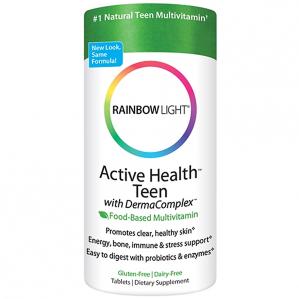 Rainbow Light Active Health Teen Multivitamin, 90 Tabs