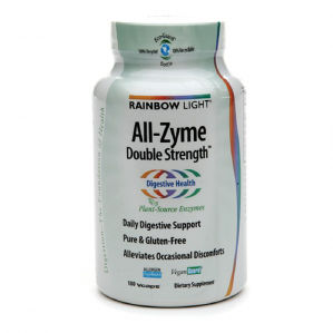 Rainbow Light All-Zyme Double Strength, 180 VCaps