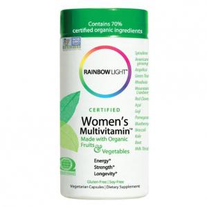 Rainbow Light Certified Organics Womens Multivitamin, 120 VCaps