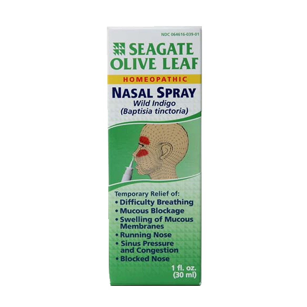 Olive leaf extract nasal spray