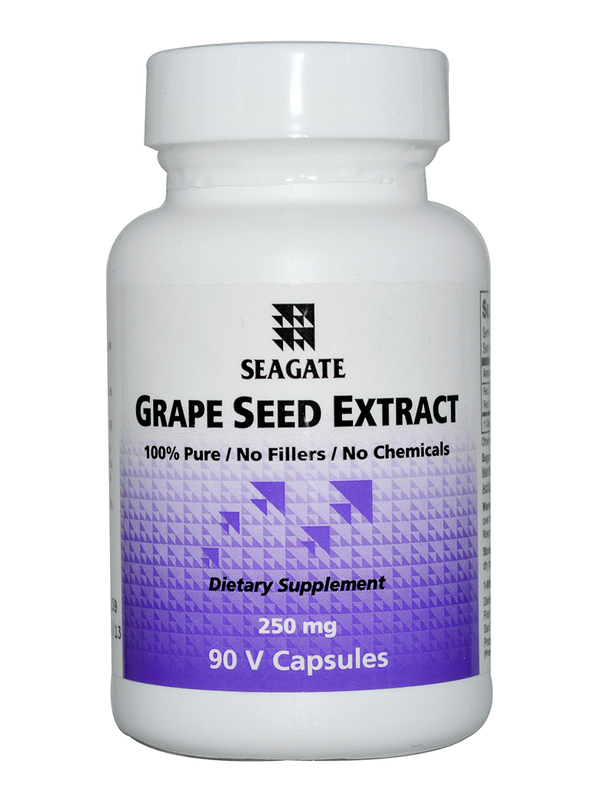 Seagate Grape Seed Extract, 90 VCaps