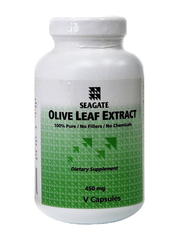 Seagate Olive Leaf Extract, 250 VCaps BUY ONE, GET ONE FREE!