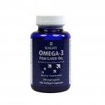 Seagate Omega-3 Fish Oil 100 Softgels, 250mg