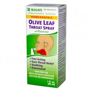 Seagate Olive Leaf Throat Spray, 1 fl. oz.