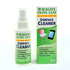 Seagate Olive Leaf Surface Cleaner, 2 fl. oz.