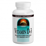 Source Naturals Vitamin D-3, 200 Tabs