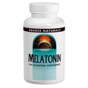 Source Naturals Melatonin 5mg Sublingual Orange, 200 Tabs