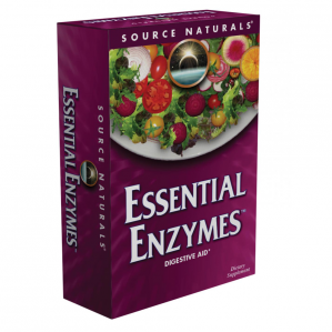Source Naturals Essential Enzymes 500mg, 240 Caps