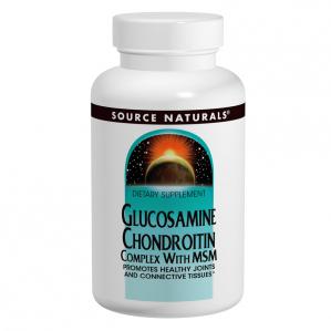 Source Naturals Glucosamine Chondroitin MSM, 120 Tabs