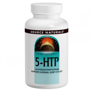 Source Naturals 5-HTP, 120 Caps