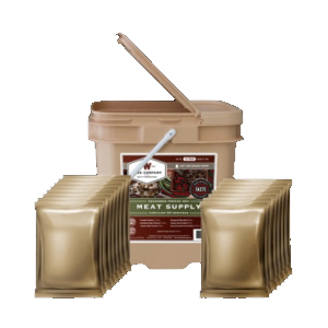 Wise Foods 60 Serving Protein/All Meat Grab and Go Bucket